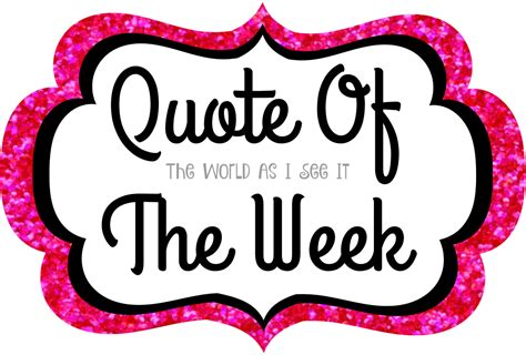 quote of the week aquinas quote of the week