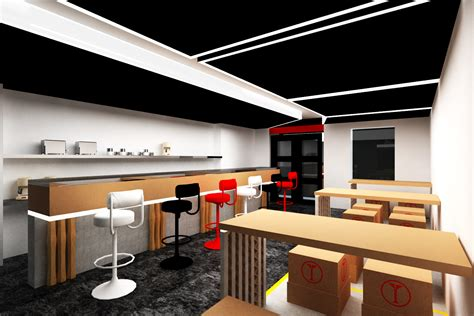 design cafe small small cafe gallery design by stefan christian arliyanto at