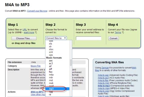 mp3 to flac zamzar free online file conversion best 3 ways to convert m4a to mp3