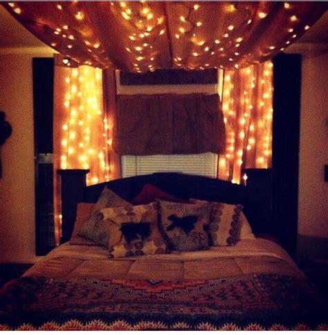 Bedroom Fairy Lights Bedroom Idea I N T E R I O R D E C O R Pinterest