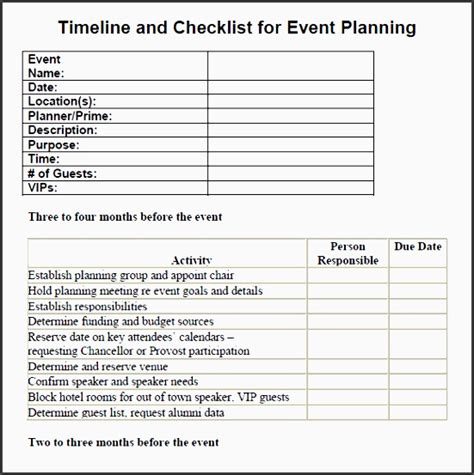 seminar checklist template 7 printable conference planning checklist