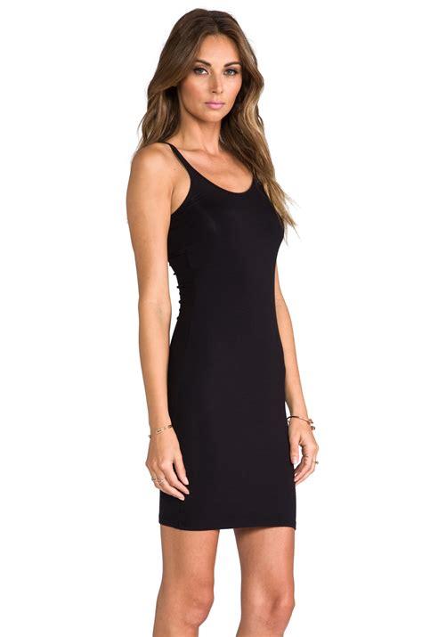 Dress Spandek lyst t by wang modal spandex cami tank dress