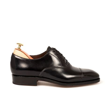 black oxford shoes black cordovan oxford shoes carmina