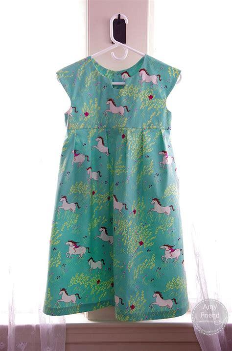 free pattern geranium dress made by rae pattern in wee wander fabric sew children s