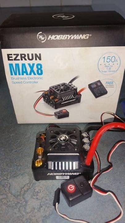 Ezrun Max8 V3 hobbywing ezrun max8 v3 waterproof esc r c tech forums