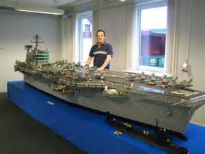 lego aircraft carrier damn cool pictures