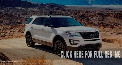 Ford Explorer Gas Mileage by 2019 Ford Explorer Xlt Sport Appearance Package Release