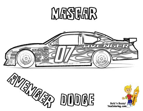 coloring pages of stock cars sports car coloring photo in nascar coloring pages at