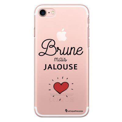 coque iphone 7 drole coque rigide transparent brune mais jalouse pour iphone 7