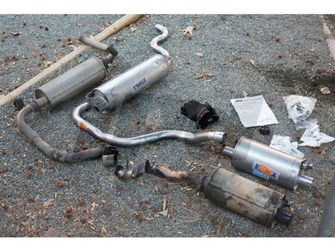 volvo 240 muffler volvo replacement exhaust system 1977 1993 240 non turbo