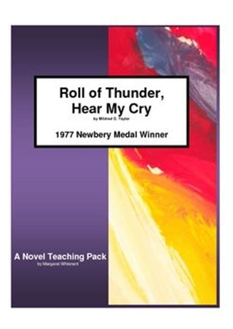 themes in the book roll of thunder roll of thunder hear my cry novel study teaching guide