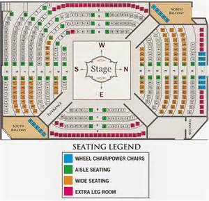 seating for phx stages seating charts