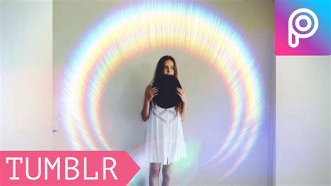 tutorial de picsart stream como hacer fotos tumblr arco iris tumblr