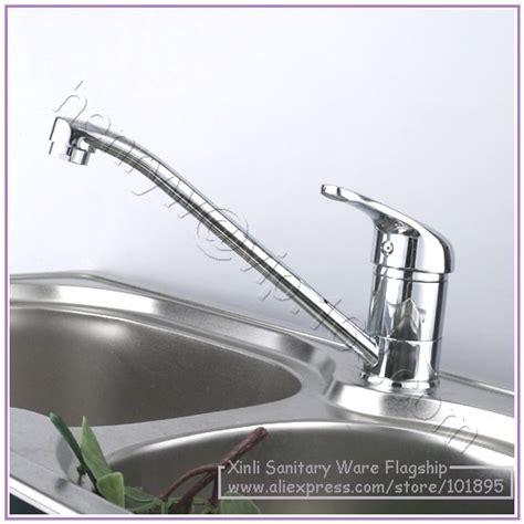 free shipping brass chrome luxury kitchen faucet deck retail luxury brass kitchen faucet hot cold kitchen