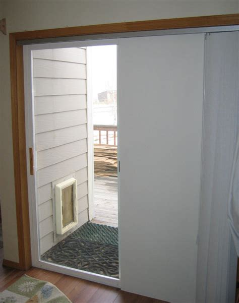 Patio Door Insulation Insulating A Sliding Glass Door