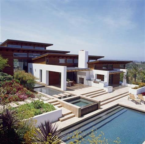 hilltoop house luxury house design in california