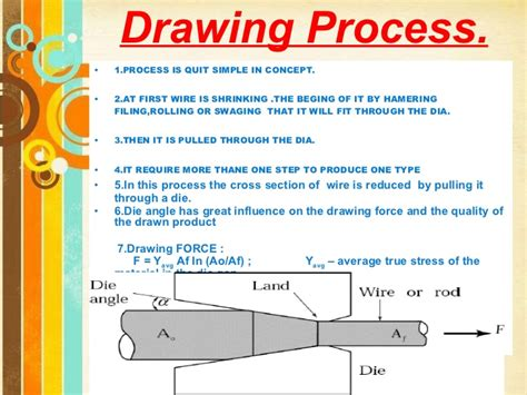 wire drawing ppt