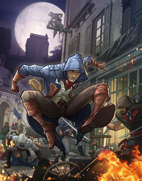 Assasin Creed Unity Jepang Gaming Kaosraglan 7 the magazine assassins creed unity by patrickbrown on deviantart