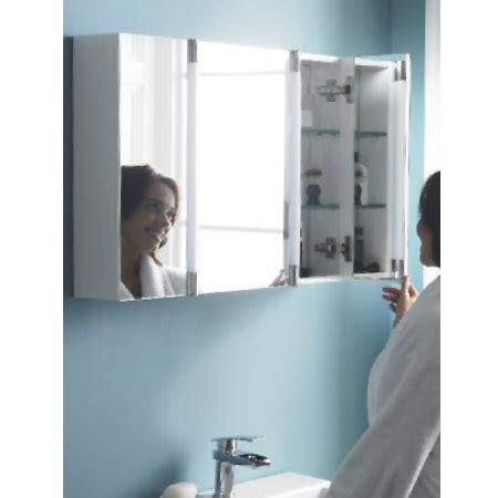 hudson reed lincoln large led mirrored bathroom cabinet lq057 hudson reed lincoln mirror cabinet with led light