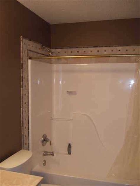 tile trim around bathtub heartland remodeling llc quality tile trim for st