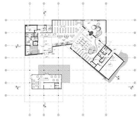 public building floor plans tirat carmel library schwartz besnosoff architects