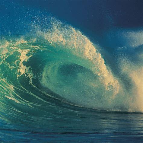 ocean wave ipad retina wallpaper  iphone