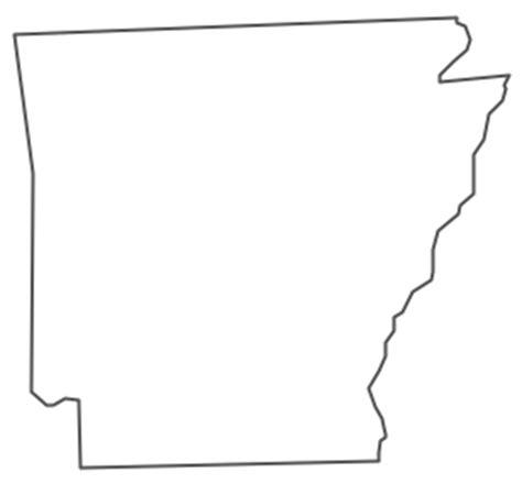 geo map usa arkansas