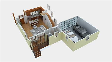 Free 3d Floor Plan Green Button Homes Part 3