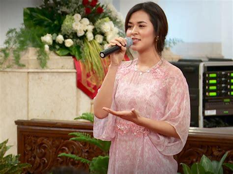 Model Rambut Raisa by Rambut Raisa Di Hari Musik Nasional Tips Perawatan Cantik