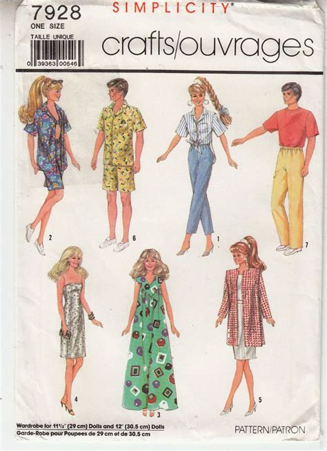 pattern for ken clothes 17 best images about doll clothes on pinterest barbie