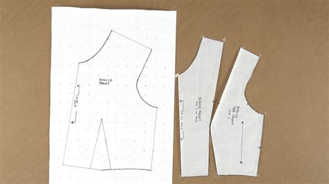 pattern making of princess cut blouse princess cut bodice pattern professorpincushion