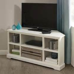 atlanta white corner tv unit dunelm one size available