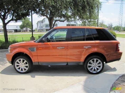 orange range rover sport vesuvius orange metallic 2006 land rover range rover sport