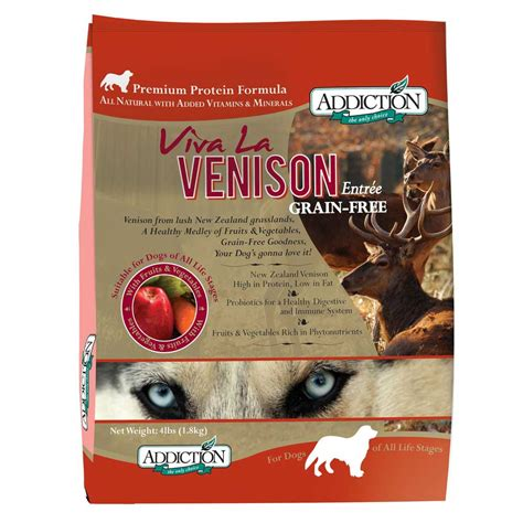 venison food addiction viva la venison grain free food kohepets singapore