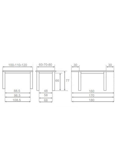 mesas de cocina medidas mesas de cocina baratas mil 225 n