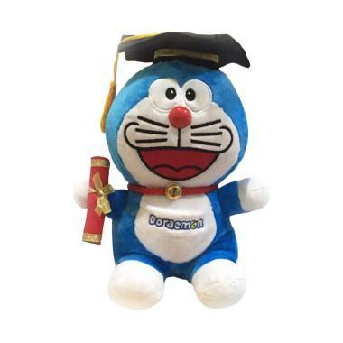 Boneka Doraemon 30 Cm jual doraemon graduation nicola boneka blue 30 cm