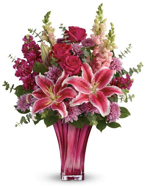mum flower arrangement pink jpeg teleflora s day flower bouquets eighty mph oregon
