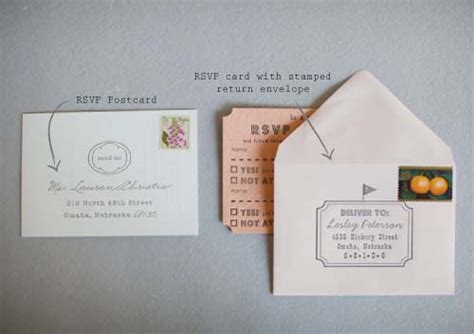 how to address a wedding rsvp card wedding stationery etiquette ready or knot omaha bridal shop