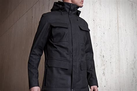 Jas Schoeller Mission Workshop Eiger Waterproof Field Jacket Uncrate