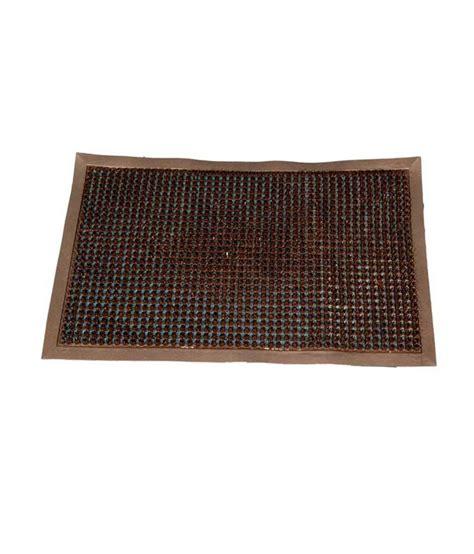 ritika carpets brown plain door mat buy ritika carpets