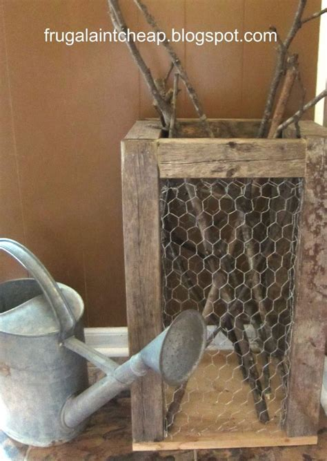 41 genius rustic decor ideas made with chicken wire page
