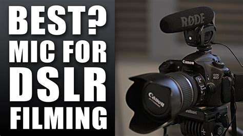 Best Mic for DSLR Video   Rode Videomic Pro   YouTube