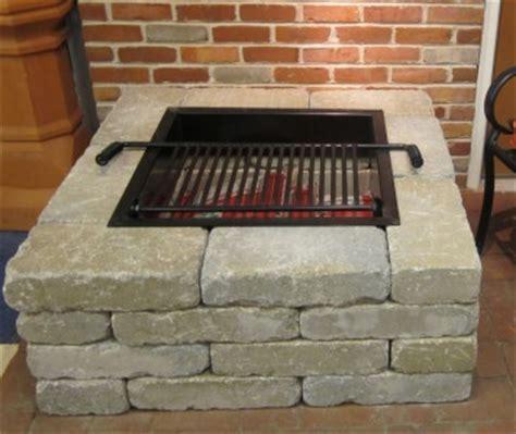 pavestone square pit kit ebay