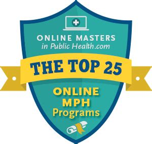 best mph programs the top 25 mph programs masters in