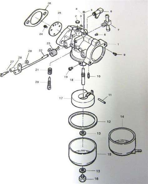 carb rebuild kit force  drive mercury sport jet  hp