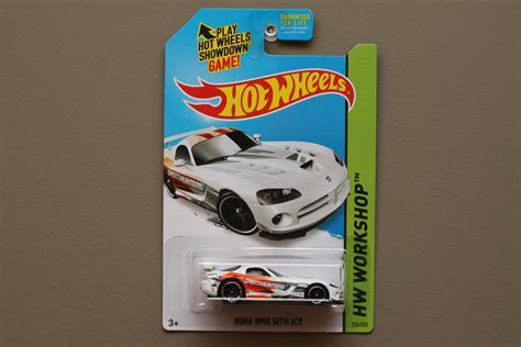 Hotwheels Datsun 240z Hw Workshop wheels 2015 hw workshop dodge viper srt10 acr white