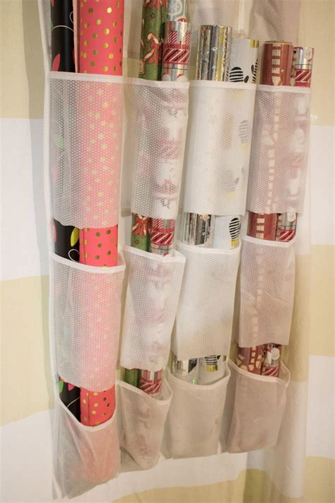 Gift Bags From Wrapping Paper - 10 ways to organize your wrapping paper and gift bags hgtv