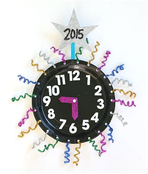 new year s with countdown clock craft using