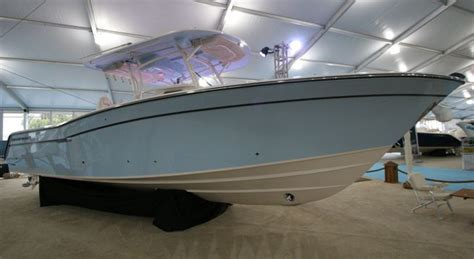 center console boats over 30 center consoles over 30 feet at miami boat show sport