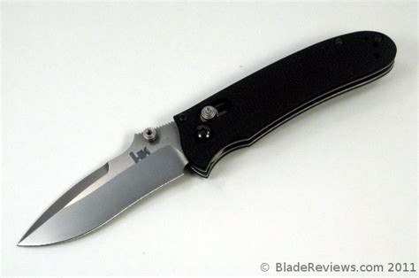 benchmade hk knives benchmade 14210 heckler and koch snody review
